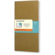 Moleskine Notes Moleskine Chapters Journal M oliwkowy w linie