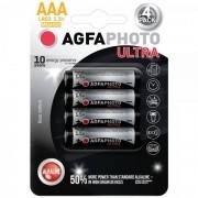 Solight AgfaPhoto Ultra AAA 4ks AP-LR03UP-4B