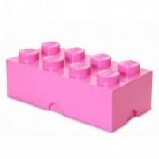 Cutie depozitare LEGO 2x4 roz 40041739