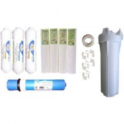 Earth RO Systems pre and post carbon sediment RO membrane 100 GPD and pp spun pre filter for all type of ro system