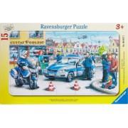 PUZZLE DEPARTAMENTUL POLITIEI 15 PIESE Ravensburger