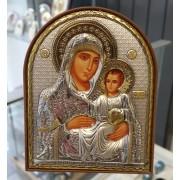 "Икона - Сребърна ""Богородица с Младенеца"" (EK3-006PAG)"