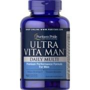 vitanatural ultra man tr - multivitamines - 90 comprimés