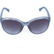Calvin Klein Round Sunglasses(Grey)