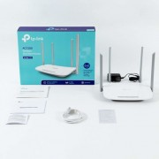 Router Wireless TP-Link ARCHER C50 v3, 1xWAN 10/100, 4xLAN 10/100, 4 antene externe,dual-band