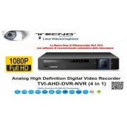 DVR TECNO MODEL TC-AHD-IP-TVI-04 v2.0