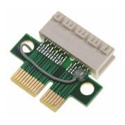 Zworka riser gniazda PCI-E x1 na problemy z detekcją kart graficznych