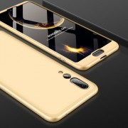 GKK for Huawei P20 Pro PC 360 Degrees Full Coverage Protective Case Back Cover(Gold)