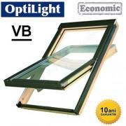 Fereastra mansarda + rama Optilight VB cu clapeta ventilatie