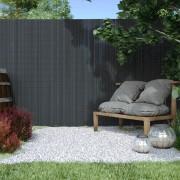 Jarolift Cañizo de PVC para Jardín, Listón 17mm de Ancho, PREMIUM, Gris, 180x300 cm