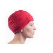 Shepa Plavecká čepice Shepa Turban Mono (B6) One size červená