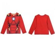 Avengers Assemble Iron-man Långärmad T-shirt (4 ÅR - 104 CM)