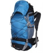 Remyra Perfect Hiking Bag man and women for travel and mount climbing Tracking Bags for Travelling Mount Track Rucksacks 65 Ltrs (Sky Blue) Rucksack - 65 L(Multicolor)