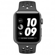 Apple Watch Nike+ Series 3 GPS 42mm Aluminio Gris Espacial con Correa Deportiva Nike Antracita/Negro