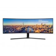 "Samsung Monitor 49"" Samsung Lc49j890dkuxen Suwqhd Curvo 32:9 144 Hz Hdmi Refurbished Usb"