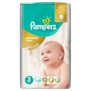 Пелени Pampers Premium Care No3 Midi 5-9 kg 60бр Jumbo