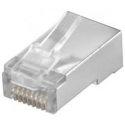 Mufa OEM RJ45 pentru cablu UTP CAT5 ecranat rotund
