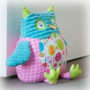 Pillow Palls Door Stop - Owl