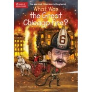 What Was the Great Chicago Fire?, Paperback