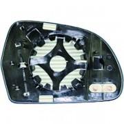 Vetro specchio specchietto retrovisore esterno destro AUDI A4 2007-05/2009, A3 2008-05/2010, A5 2007-2011, A6 2008-2011, Q3 2011- riscaldabile asferico