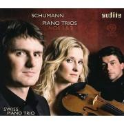 AUDITE R. Schumann - Schumann : Piano Trios nos 1 et 2 [SACD] USA import