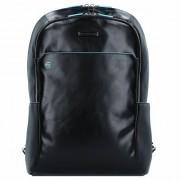 Piquadro Blue Square Sac à dos cuir 43 cm compartiment Laptop