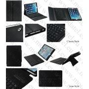 Аpple iPad 9.7 2017 / iPad 9.7 2018 (6th Generation) / iPad Air - кожен калъф + Bluetooth клавиатура