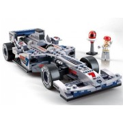 "Sluban Formula One Racing Car ""Sliver Arrow"" 1:24 257 Pieces (Brand New In Original English Box) 100% Lego Compatible Educational Toy Building (M38 B0352)"