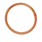 Men Style Attractive Design Brown Copper Round Kada For Men And Women