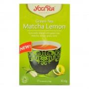 Ceai bio verde matcha cu lamaie Yogi Tea