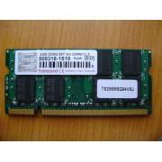 MEMORIE LAPTOP Transcend 2GB DDR2 DDR2 667 (PC2 5300)