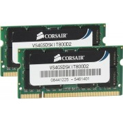 Corsair ValueSelect VS4GSDSKIT800D2 4GB DDR2 SODIMM 800MHz (2 x 2 GB)