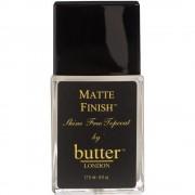 Butter london - matte finish top coat - 17.5 ml