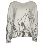 Soulmate-tröja, äggskalsvit/grå (Stl: L, XL, XXL, )
