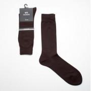 formális zokni selyem és pamut - barna 596