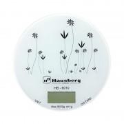 Cantar de bucatarie Hausberg HB-6010, 5 kg, functie Tara