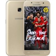 Samsung Galaxy A3 2017 - Inclusief Rode Duivels Cover - Goud