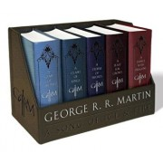 George R. R. Martin's a Game of Thrones Leather-Cloth Boxed Set (Song of Ice and Fire Series): A Game of Thrones, a Clash of Kings, a Storm of Swords,, Paperback/George R. R. Martin