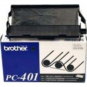 Rollo De Impresion Termico Brother PC-401 Rendimiento Estandar En Color-Negro