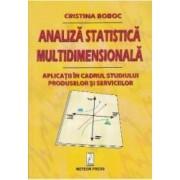 Analiza statistica multidimensionala - Cristina Boboc