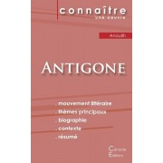 Fiche de lecture Antigone de Jean Anouilh (Analyse littraire de rfrence et rsum complet), Paperback/Jean Anouilh