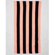 ASOS Towel With Stripe Print - Multi