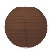 Confetti Large Paper Lantern - Brown