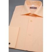 Košile na manžetové knoflíčky lososová 512-2104-40/182