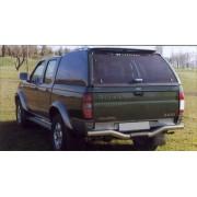 HARD TOP CARRYBOY NISSAN NAVARA DBL CAB98/05 ( SANS VITRE LATERALES ) - acc...