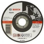 Disc de taiere Inox, executie dreapta,D=125mm G=2mm