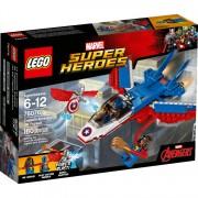 MSH: Captain America jet-achtervolging