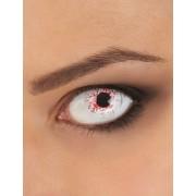 Vegaoo.es Lentillas fantasía ojo ensangrentado 1 año adulto Halloween