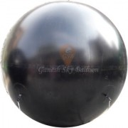 Ganesh Sky Balloon 10 x 10 feet Black Big Advertising PVC Sky Balloon