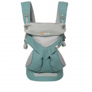 Ergobaby 360 Cool Air Baby Carrier, Mint Grey